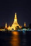 Chedi, Wat Arun fotos de archivo libres de regalías