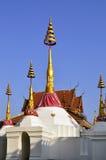 Chedi at Wat Bang Luang Stock Photos
