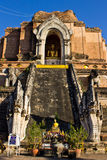 Chedi In Wat Chedi Lung Chiangmai Royalty Free Stock Photos