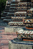 Chedi a Wat Pho, Bangkok Tailandia Fotografie Stock