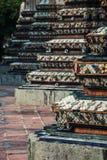 Chedi in Wat Pho, Bangkok Thailand Stock Foto's