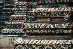 Chedi in Wat Pho, Bangkok Thailand Royalty-vrije Stock Afbeelding