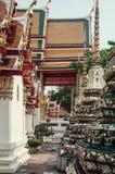 Chedi in Wat Pho, Bangkok Thailand Royalty-vrije Stock Foto