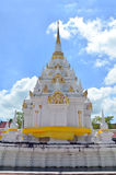 Chedi in Wat Phra Borommathat Chaiya Temple Royalty Free Stock Image