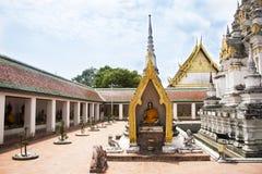 Wat Phra Borommathat Chaiya Temple in Chaiya district in Surat Thani, Thailand Stock Photography