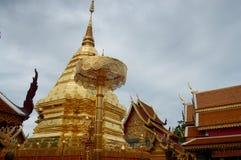 Chedi at Wat Phra That Doi Suthep Royalty Free Stock Photos