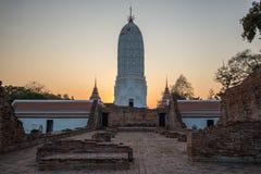 Chedi in Wat Phutthaisawan in Phra Nakhon Si Ayutthaya Province