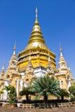 Chedi in Wat Prabattakpha, Lamphun Royalty-vrije Stock Fotografie