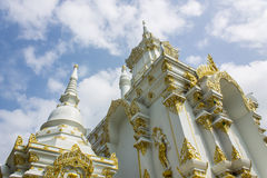 Chedi in Wat Sri Don Moon , Chiangmai Thailand Royalty Free Stock Image
