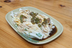 Chee Cheong fun Stock Photo
