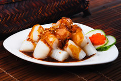 Chee Cheong Fun. rice noodle roll Royalty Free Stock Photography