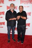 Cheech Marin,Tommy Chong,. Tommy Chong and Cheech Marin  at the 'Hoodwinked Too' World Premiere, Pacific Theaters at the Grove, Los Angeles, CA 04-16-11 Stock Images