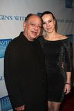 Cheech Marin and wife Natasha  Royalty Free Stock Photos