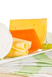 Cheeese assortment. Stock Image