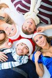 Cheeful christmas Royalty Free Stock Images