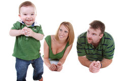 Cheeky baby Stock Photos