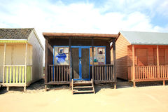 Cheeky beach hut Royalty Free Stock Photos