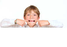 Cheeky boy Stock Images