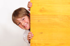 Cheeky boy Royalty Free Stock Image