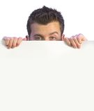 Cheeky business man - blank space for writing 3 Royalty Free Stock Photography