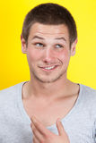 Cheeky face Stock Photography