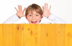 Cheeky kid. Stock Photos