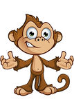 Cheeky Monkey Character Royalty Free Stock Photography