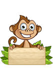 Cheeky Monkey Character Stock Images
