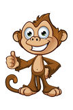 Cheeky Monkey Character Stock Photo
