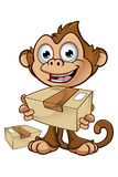 Cheeky Monkey Character Royalty Free Stock Photos
