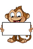 Cheeky Monkey Character Royalty Free Stock Photo