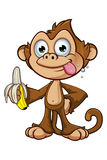 Cheeky Monkey Character Stock Photos