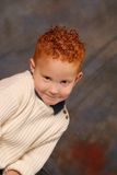 Cheeky Sweetheart. Portrait of a red-haired boy smiling Royalty Free Stock Photos