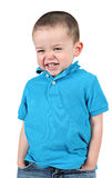 Cheeky young boy Royalty Free Stock Photos