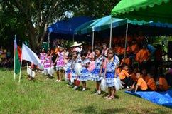 Cheeleader. Cheerleader of the rural school,thailand Stock Images