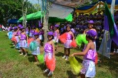 Cheeleader. Cheerleader of the rural school,thailand Royalty Free Stock Photos