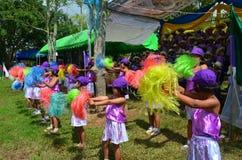 Cheeleader. Cheerleader of the rural school,thailand Royalty Free Stock Images