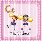 cheer royalty-vrije illustratie