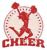 Cheer Design - Vintage Stock Image