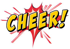 Cheer icon Royalty Free Stock Photo