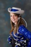 Cheer leader Stock Photo