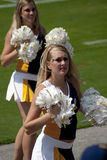 The cheer leaders in American College football Stock Photos