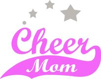 CHEER MOM STARS Stock Images