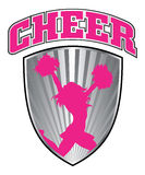 Cheer With Shield Stock Photo