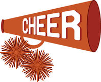 Cheer Stock Photo