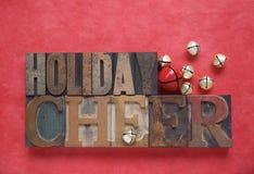 Cheer van de vakantie stock afbeeldingen