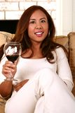 Cheer With Wine Royalty Free Stock Photography