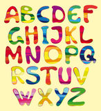 Cheerful alphabet Royalty Free Stock Photography