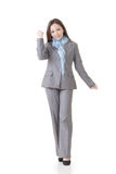 Cheerful Asian business supervisor Stock Photography