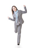 Cheerful Asian business woman Stock Photos